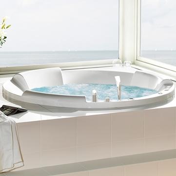 Badkar massagebadkar 2 personer : massagebadkar - Westerbergs badrum