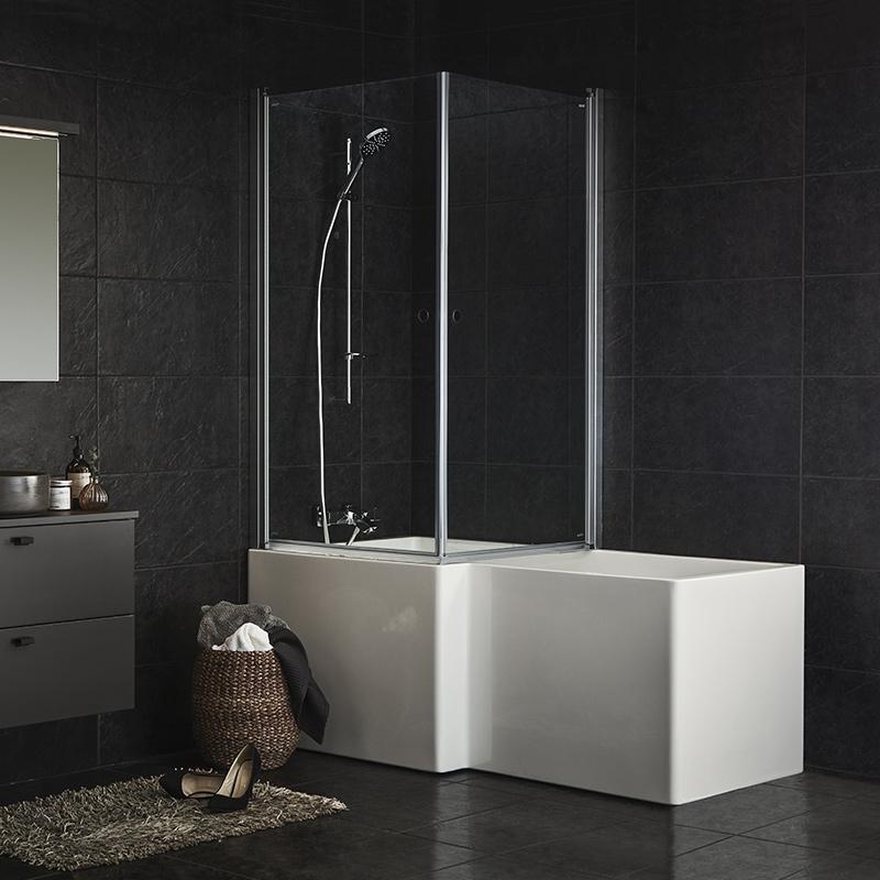 massagebadkar med dusch