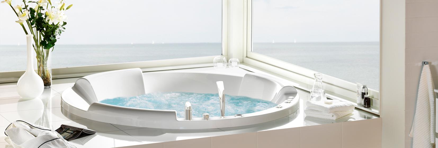bubbelbadkar, badkar, massagebadkar och spabad från westerbergs ...